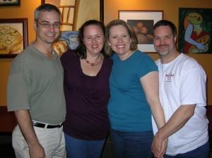 2012 - (03-25-2012) Chris & Becky Henderson & Dan & Kelli Gassman - 2