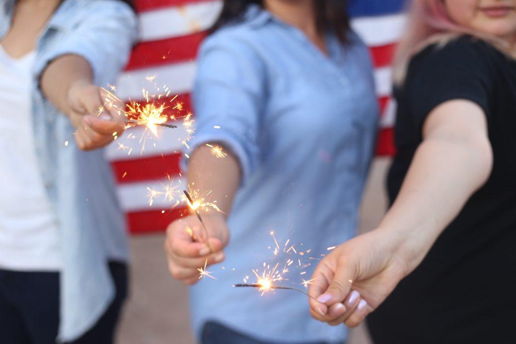 american freedom fireworks