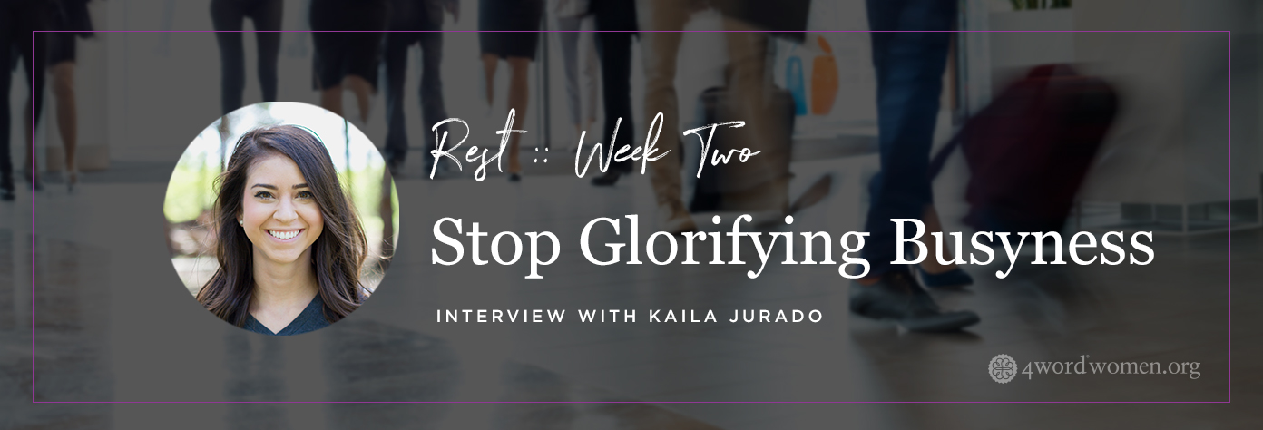 stop glorifying busyness find rest