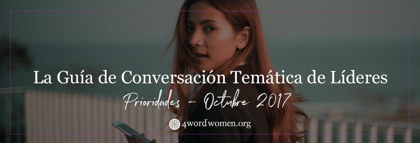 Prioridades, Octubre, La Guía de Conversación