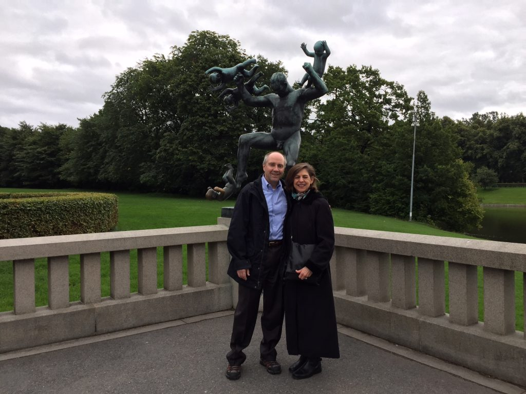 diane with husband