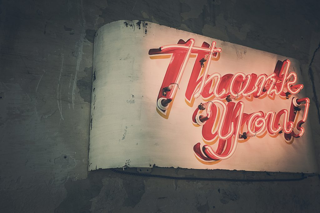 thanks gratitude