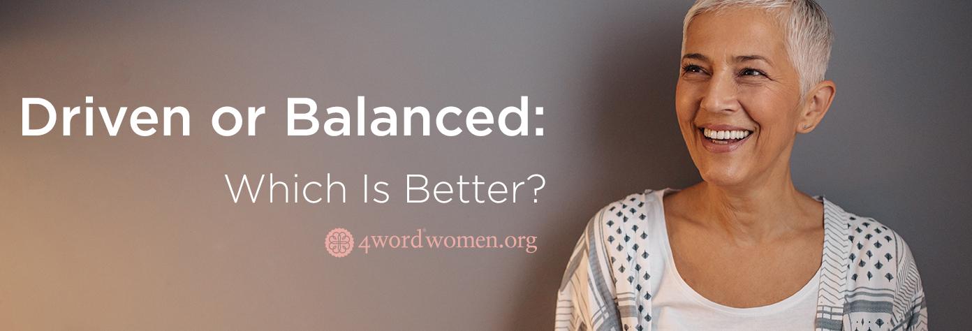driven or balanced