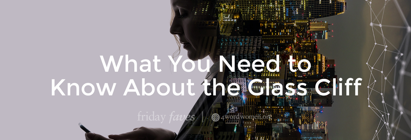 what you need to know about the glass cliff